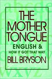 Cover of: Mother Tongue