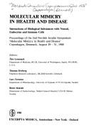 Cover of: Molecular Mimicry in Health and Disease (International congress series) |