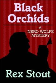 Cover of: Black Orchids