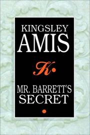 Cover of: Mr. Barrett's Secret