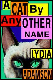 Cover of: A cat by any other name