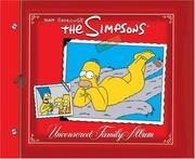 Cover of: The Simpsons Uncensored Family Album (Simpsons)
