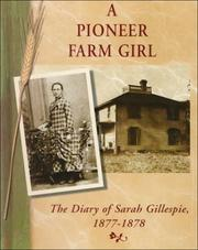 Cover of: A pioneer farm girl