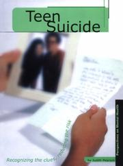 Cover of: Teen Suicide (Perspectives on Mental Health)