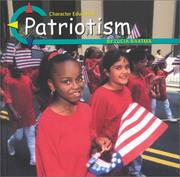 Cover of: Patriotism (Character Education)