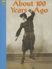 Cover of: About 100 Years Ago
