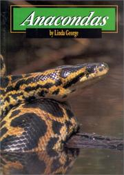 Cover of: Anacondas (Snakes)