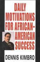Cover of: Daily Motivations for African-American Success