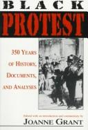 Cover of: Black Protest | Joanne Grant