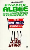 Cover of: The American Dream and Zoo Story | Edward Albee