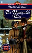 Cover of: The Honorable Thief