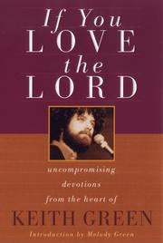 Cover of: If you love the Lord