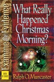 Cover of: What really happened Christmas morning?