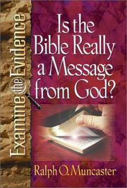 Cover of: Is the Bible really a message from God?