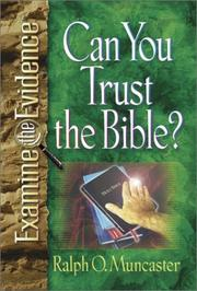 Cover of: Can you trust the Bible?