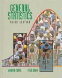 Cover of: General statistics | Chase, Warren.