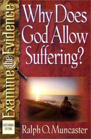 Cover of: Why does God allow suffering?