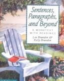 Cover of: Sentences, Paragraphs, and Beyond by Lee E. Brandon, Kelly Brandon