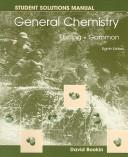 Cover of: General Chemistry Student Solutions Manual, 8th Edition | Darrell D. Ebbing