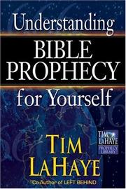 Cover of: Understanding Bible Prophecy for Yourself (Tim LaHaye Prophecy Library)