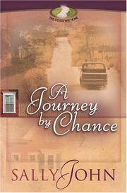 Cover of: A journey by chance