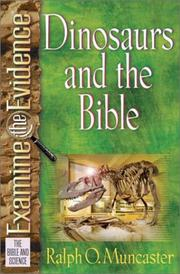 Cover of: Dinosaurs and the Bible