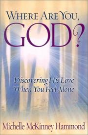 Cover of: Where are you, God?