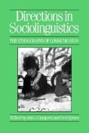 Cover of: Directions in sociolinguistics