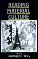 Cover of: Reading material culture |