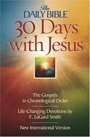 30 days with Jesus by F. LaGard Smith