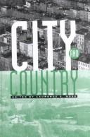 Cover of: City and country |