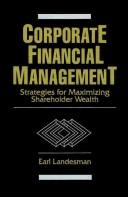 Cover of: Corporate financial management