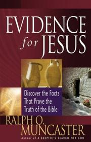 Cover of: Evidence for Jesus