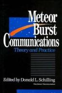 Cover of: Meteor Burst Communications by Donald L. Schilling