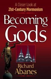 Cover of: Becoming Gods