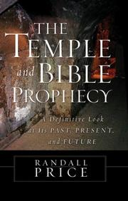 Cover of: The Temple and Bible prophecy