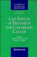 Cover of: Late Effects of Treatment for Childhood Cancer