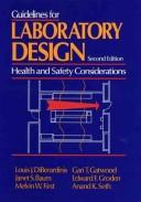Cover of: Guidelines for laboratory design |