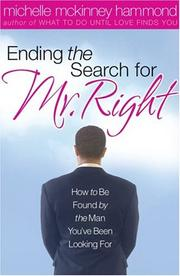 Cover of: Ending the search for Mr. Right