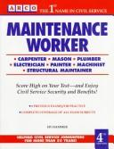 Cover of: Maintenance Worker