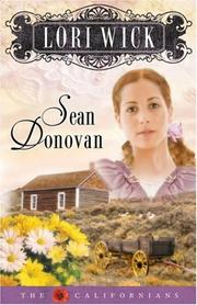 Cover of: Sean Donovan (The Californians, Book 3)