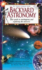 Cover of: Backyard Astronomy: Your Guide to Starhopping and Exploring the Universe (Nature Company Guides)
