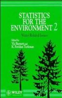 Cover of: Statistics for the Environment 2
