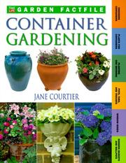 Cover of: Container Gardening (Time-Life Garden Factfiles) | Jane Courtier