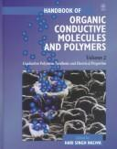 Cover of: Handbook of Organic Conductive Molecules and Polymers, Conductive Polymers | Hari Singh Nalwa