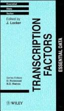 Cover of: Transcription Factors
