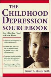 Cover of: The Childhood Depression Sourcebook (Sourcebooks) |