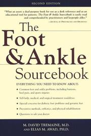 Cover of: The foot & ankle sourcebook | M. David Tremaine