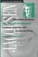 Cover of: The instant of knowing