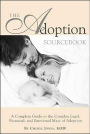 Cover of: The Adoption Sourcebook | Cheryl Jones